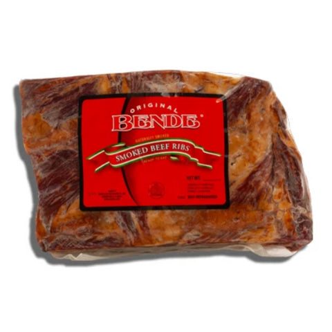Smoked Beef Ribs (Bende) approx. 1.25 - 1.5 lbs - Parthenon Foods