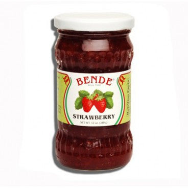 Strawberry Jam (Bende) 12oz - Parthenon Foods