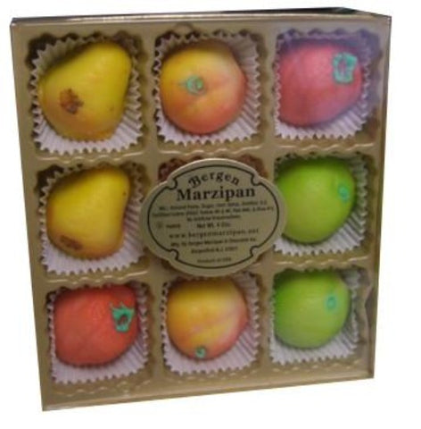 Marzipan Fruit Box (Bergen) 4 oz - Parthenon Foods