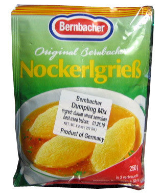 Dumpling Mix (Bernbacher) 8.8 oz (250g) - Parthenon Foods