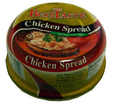 Chicken Spread (TheBestTaste) 3.35 oz (95g) - Parthenon Foods