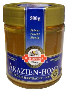Acacia Honey, Akazien-Honig (Bihophar) 500g - Parthenon Foods