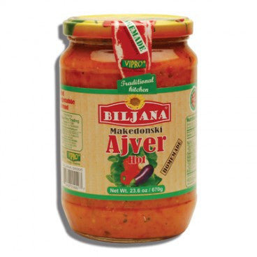 Home Made Ajver HOT (Biljana) 670g - Parthenon Foods