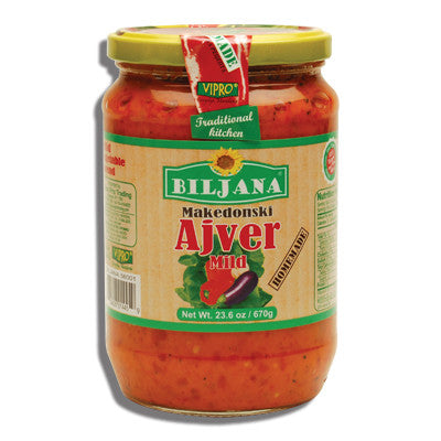 Home Made Ajver MILD (Biljana) 23.6oz (670g) - Parthenon Foods