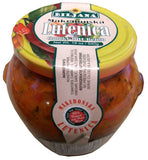 Lutenica, Makedonska, Chunky Hot Relish (Biljana) 19oz (540g) - Parthenon Foods