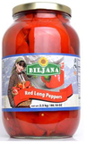Red Long Peppers (Biljana) 2500g - Parthenon Foods