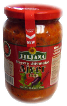 Recete Shtepiake Ajver HOT, 23.6oz (670g) - Parthenon Foods