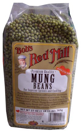 Mung Beans (BobsRedMill) 27 oz (765g) - Parthenon Foods
