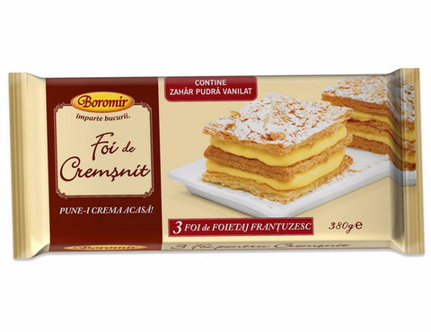 Pastry Layers for Cremsnit Cake (Boromir) 13.5 oz (380g) - Parthenon Foods