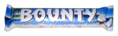 Bounty Milk Chocolate Bar, 57g - Parthenon Foods