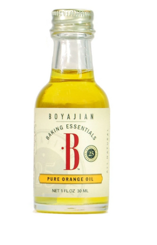 Pure Orange Oil (Boyajian) 1 fl oz (30 ml) - Parthenon Foods