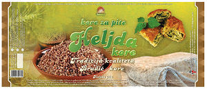 Buckwheat Fillo Dough - Heljda Kore (Bradic) 430g - Parthenon Foods