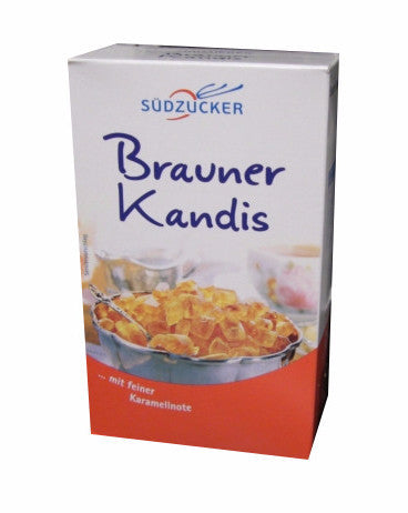 Nordzucker, Brauner Kandis (SweetFamily) 500g, Brown Sugar Candy - Parthenon Foods