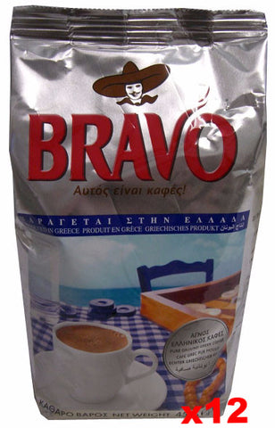 Greek Ground Coffee (bravo) CASE (12x16oz) - Parthenon Foods
