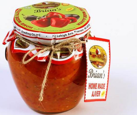 Brian's Home Made Ajver, Hot, 550g - Parthenon Foods