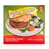 Pljeskavice Beef Sausage Patties (Brother And Sister) 685g - Parthenon Foods