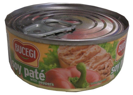 Vegetable Pate, BUCEGI, Soy, with Peppers (4.2oz) 100g - Parthenon Foods