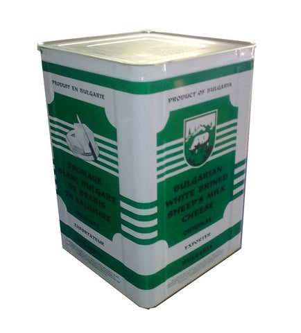 Bulgarian Feta Cheese, 26.4 lb (12 kg) - Parthenon Foods