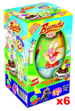Bundy Chocolate Egg with Surprise, 6 PACK (6 x 70g) - Parthenon Foods
