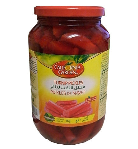 Pickled Turnips (CaliGarden) 35.2 oz (1000g) - Parthenon Foods