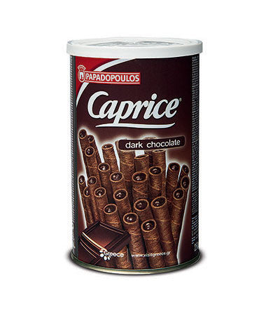 Caprice - Dark Chocolate Filled Wafers, 250g - Parthenon Foods