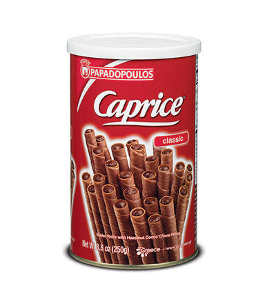 Caprice - PRALINE Cream Filled Wafers, 250g - Parthenon Foods