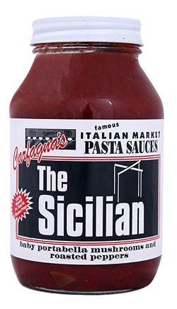 Carfagnas The Sicilian Pasta Sauce, 32oz - Parthenon Foods