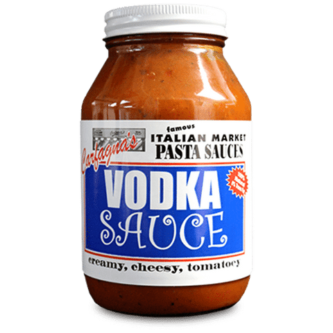 Carfagnas Vodka Sauce, 32oz - Parthenon Foods