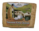 Romanian Telemea Smoked Feta Cheese, approx. 350g - Parthenon Foods