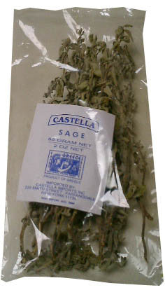 Sage Tea on Stem, 55g (2oz) - Parthenon Foods