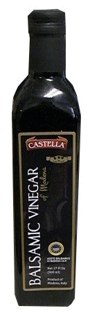 Balsamic Vinegar of Modena (Castella) 17 oz (500 ml) - Parthenon Foods