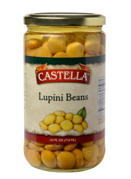 Lupini Beans Imported (castella) 12oz - Parthenon Foods