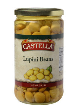 Lupini Beans Imported (Castella) 24 oz - Parthenon Foods