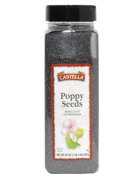Poppy Seed, 5 lb Bag (Special order item - Ships in 1-3 weeks.) - Parthenon Foods