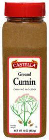 Cumin, Ground (Castella) 8 oz - Parthenon Foods
