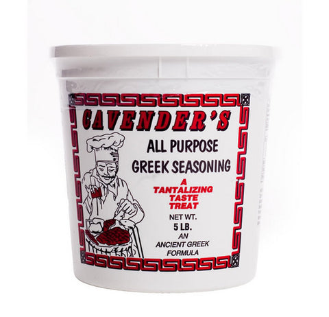 Cavenders All Purpose Greek Seasoning, 5lb - Parthenon Foods