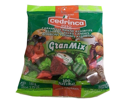Gran Mix Candies (cedrinca) 150g - Parthenon Foods