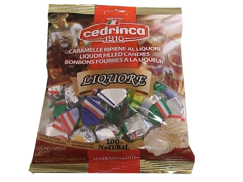 Liquor Filled Candies (cedrinca) 125g - Parthenon Foods