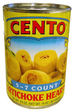 Artichoke Hearts, 5 to 7 count (Cento) 14 oz - Parthenon Foods