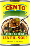 Lentil Soup (Cento) 15 oz - Parthenon Foods