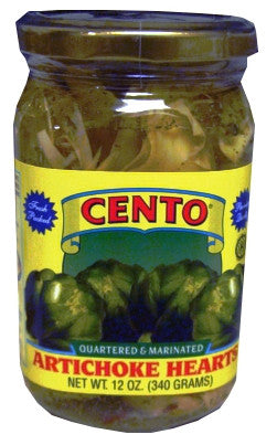 Marinated Artichoke Hearts (Cento) 12 oz - Parthenon Foods