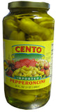 Pepperoncini Imported (Cento) 32 oz (2lb) - Parthenon Foods