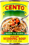 Italian Wedding Soup (Cento) 15 oz - Parthenon Foods