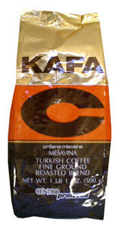 Minas Kafa C Fine Ground Roasted Blend (C) 1kg - Parthenon Foods