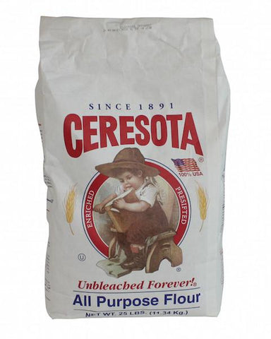 Ceresota Unbleached All Purpose Flour, 25 lb - Parthenon Foods