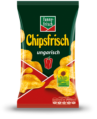 Potato Chips, Chipsfrisch - Ungarisch, 175g - Parthenon Foods