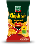 Potato Chips, Chipsfrisch - Peperoni, 175g - Parthenon Foods