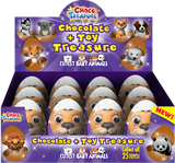 Choco Treasure Everyday Single Egg (Pack of 12) - Parthenon Foods  - 2