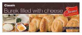 Classic Burek with Cheese, 600g - Parthenon Foods