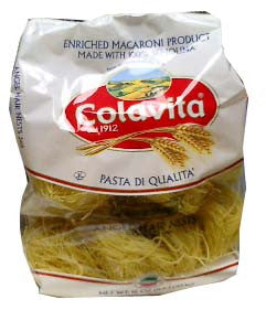 Angel Hair Nests-Capellini Nidi (colavita) 16oz - Parthenon Foods